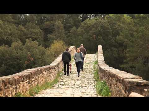 Medieval Bridge of Pedret, Catalonia, Spain - Unravel Travel TV