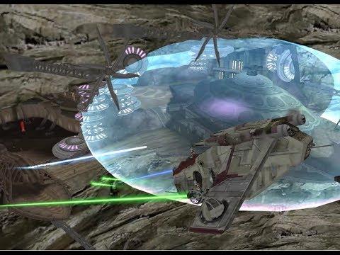 Star Wars Battlefront II: Utapau (Space to Ground battle ...
