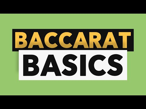 Baccarat Basics - How To Play With Wizard's Free Demo