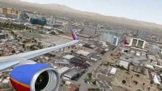 "[HD] FSX Southwest Airlines 737-700 ""LUV"""
