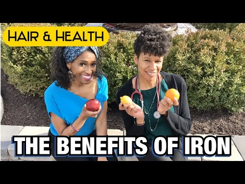 BENEFITS OF IRON FOR YOUR HAIR