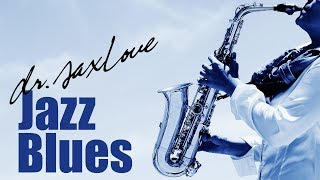 Jazz Blues • Blues Saxophone Instrumental Music for Relaxing and Study