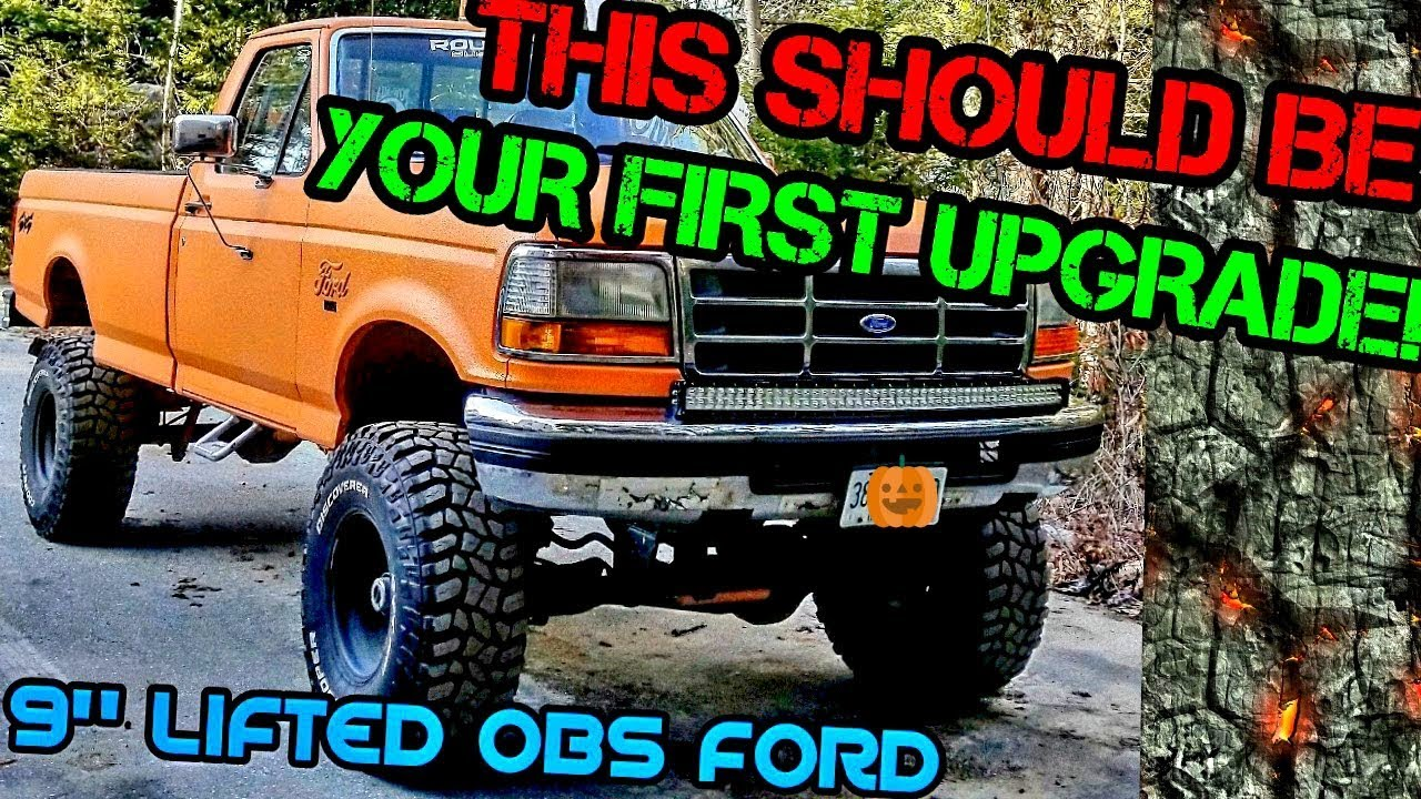 "2017 F250 Lifted >> 5 REASONS TO BODY LIFT YOUR TRUCK! (9"" LIFTED OBS FORD) - YouTube"