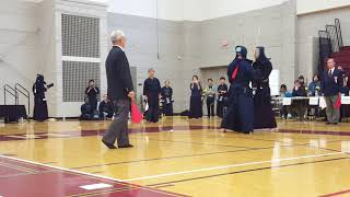 Detroit 2018 Open Kendo Tournament - Teams - Hill Final