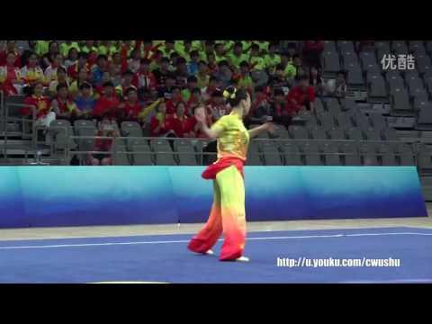 2016 China wushu championship(female) ChangQuan, Han wencong1st place