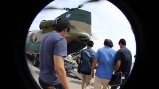 今回は入間基地にて航空自衛隊の CH-47チヌークに搭乗させていただき...
