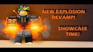 New EXPLOSION REVAMP In Boku No Roblox: Remastered!