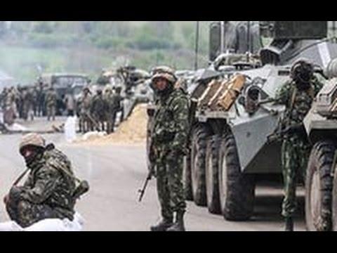 Лисичанский НПЗ. Артобстрел 18.07.2014.