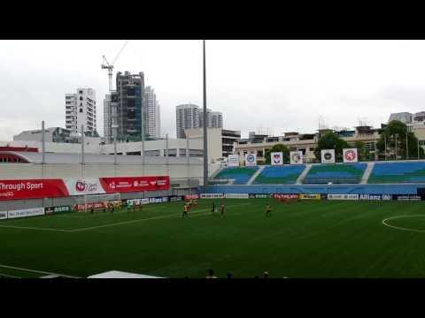 Bench n Bar 2017. Vet soccer.part 2. jalan besar stadium.goal. 9 min !penalty 18 minutes !