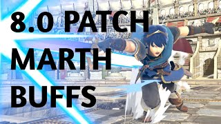 RETURN OF THE KING?! My Initial Thoughts on the 8.0 Marth Buffs!