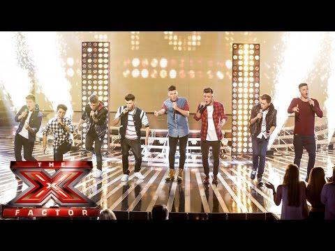 Stereo Kicks sing Katy Perry's Roar | Live Week 1 | The X Factor UK 2014