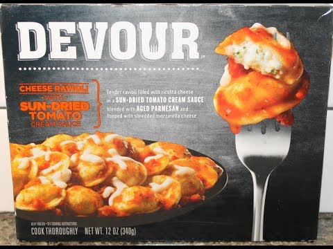 Devour: Cheese Ravioli with Sun-Dried Tomato Cream Sauce Review
