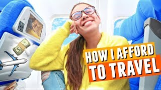 How I Afford To Travel The World All The Time?