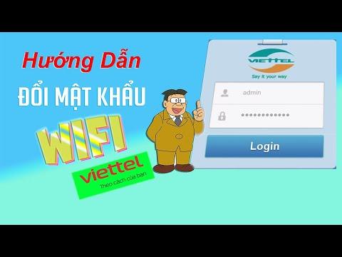 Cách đổi Mật Khẩu Wifi Nhà Mạng Viettel