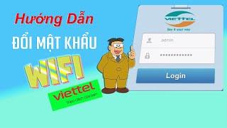 How to change Viettel wifi password