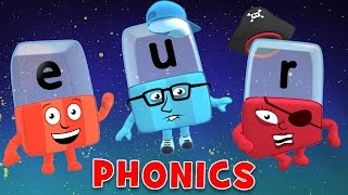 Learn to Read | Phonics for Kids | Making Words - E, U, R