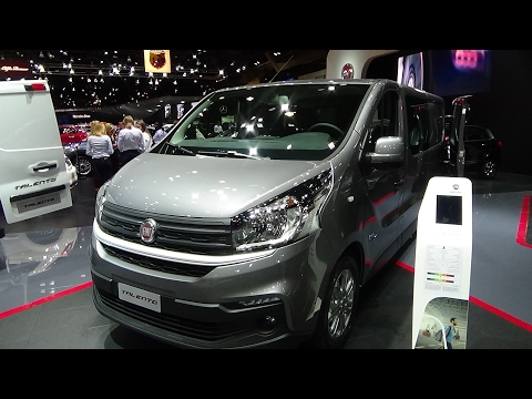 2017 Fiat Talento Exterior and Interior Auto Show Brussels 2017