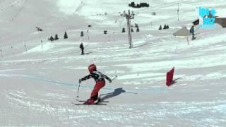 Alpe d'Huez - LES CRISTAUX 2016 - Run avec  Morgan 5 1/2