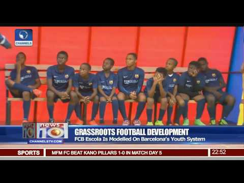 News@10: FCB Escola Soccer School Joins The Campaign For Grassroot Football Development Pt 4