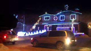 Christmas Lights in Winnipeg