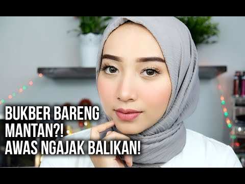 TUTORIAL MAKEUP NATURAL BUKA BERSAMA ft. WARDAH // MANTAN MINTA BALIKAN CUY!
