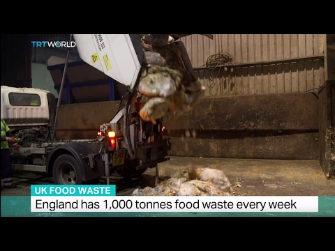 UK Food Waste: England has 1,000 tonnes of food waste every week