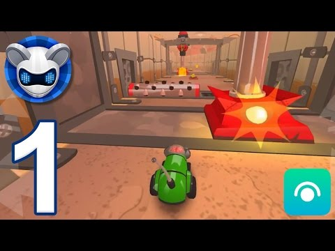 MouseBot - Gameplay Walkthrough Part 1 - Labs 1-2 (iOS, Android)