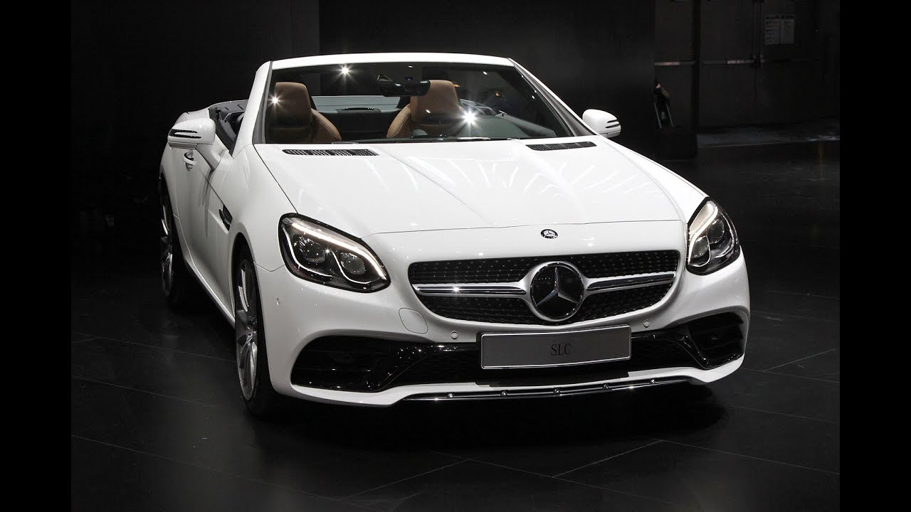 2016 mercedes amg slc at the 2016 detroit auto show naias youtube. Black Bedroom Furniture Sets. Home Design Ideas