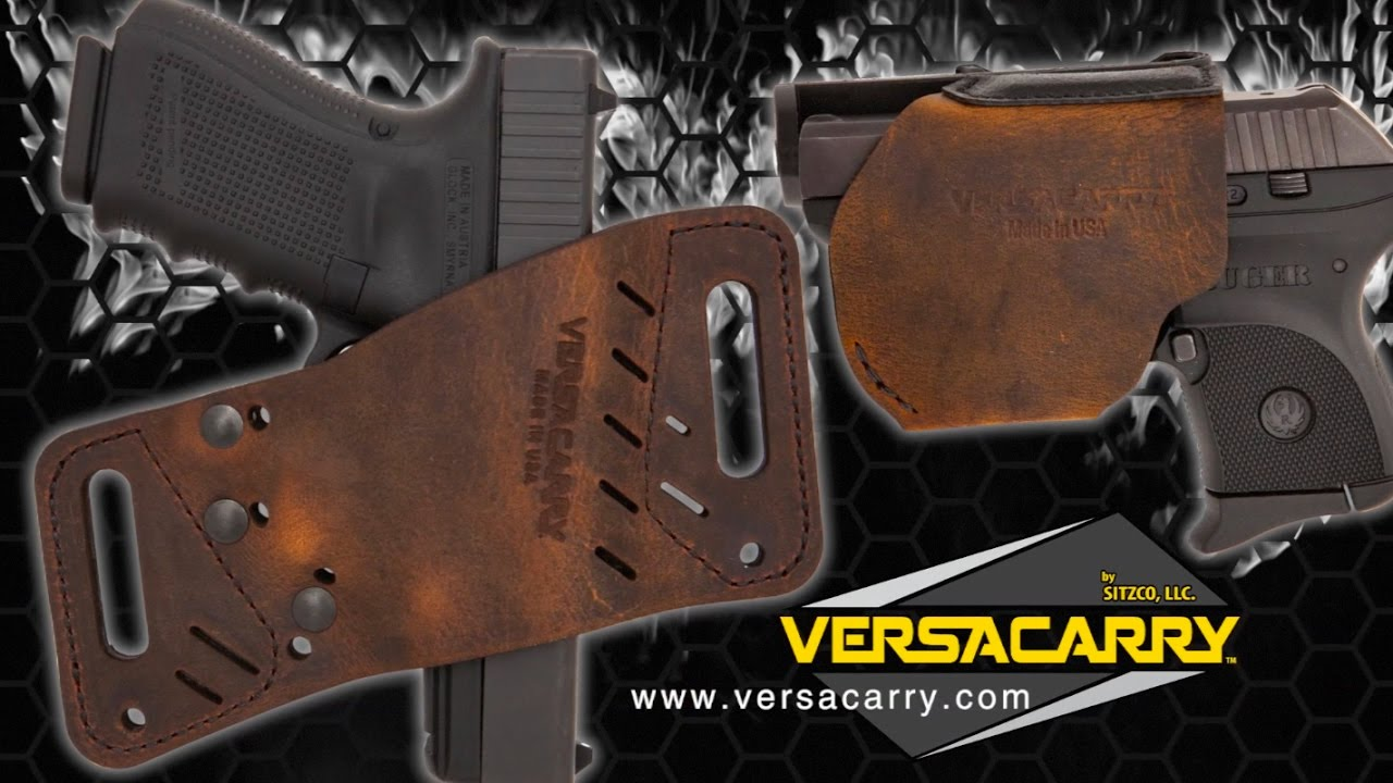 Exotic Water Buffalo Holsters By Versacarry