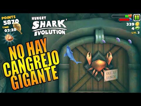ESTA ES LA VERSIÓN MAS ANTIGUA DE Hungry Shark Evolution, NO HAY NI MEGALODON NI CANGREJO GIGANTE!