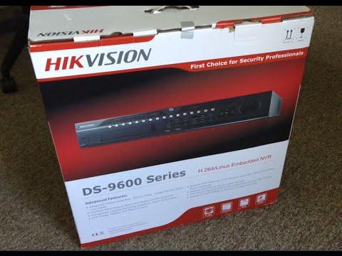 Hikvision NVR setup DS-9632NI-ST DS-2CD2132F-I security camera system Full & complete programming