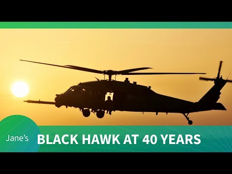 AUSA 2018: Black Hawk helicopter at 40 years