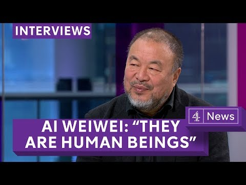 Ai Weiwei on the migrant crisis - the subject of his new film (Extended interview)