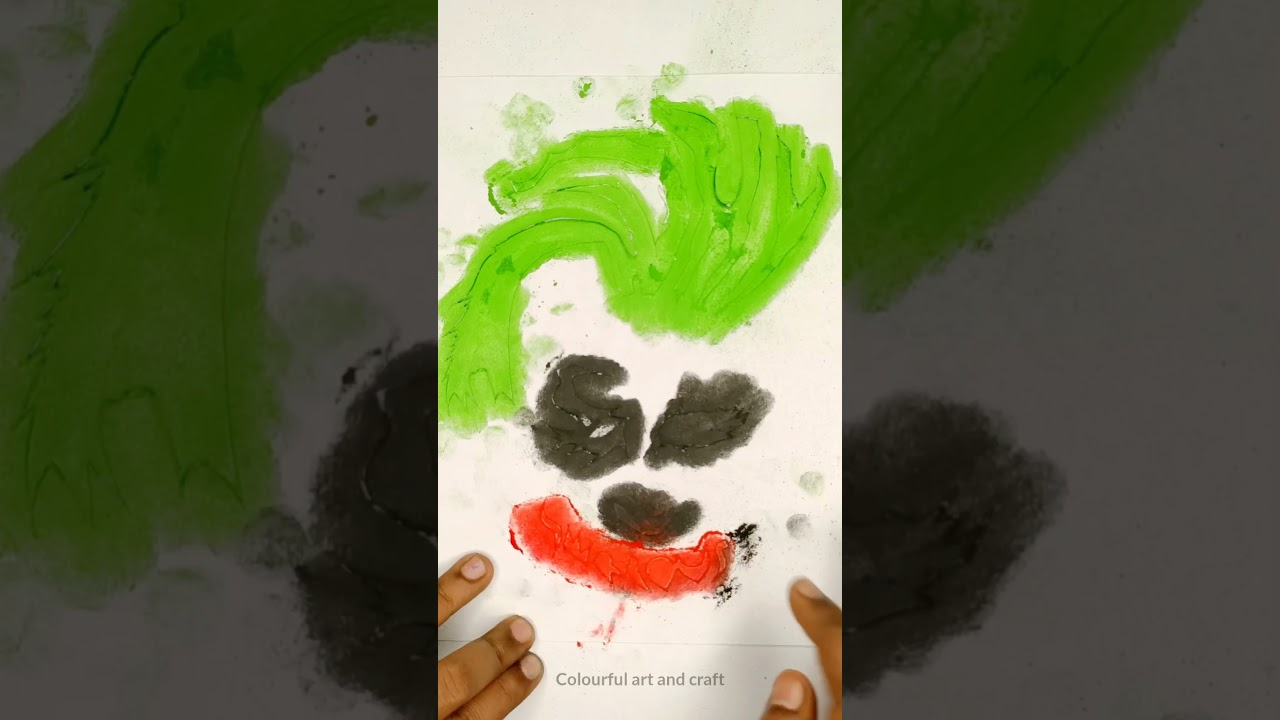 How to Draw Joker drawing #shorts #short