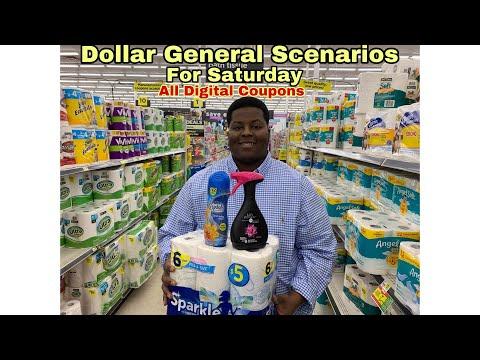 Dollar General Scenarios For Saturday 12/7 - Bomb AF All Digital Coupons - Vlogmas Day 6