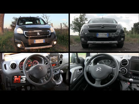 new peugeot partner tepee outdoor vs citroen berlingo multispace 2016 first mpv test drive. Black Bedroom Furniture Sets. Home Design Ideas