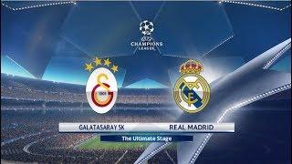 PES 2018 - GALATASARAY vs REAL MADRID CHAMPIONS LEAGUE PS4