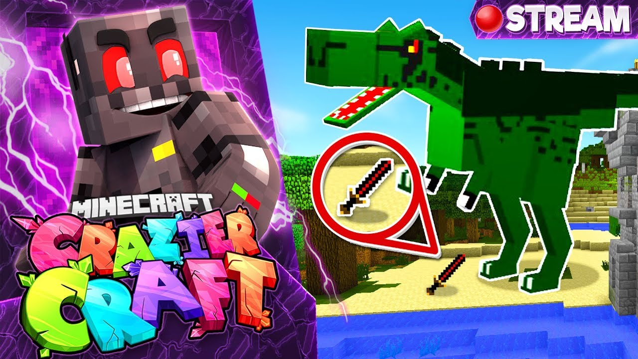 Minecraft Crazier Craft SMP Stream 2: A Bertha Journey