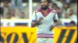 ANDY ROBERTS - INCREDIBLE WEST INDIES FAST BOWLER......