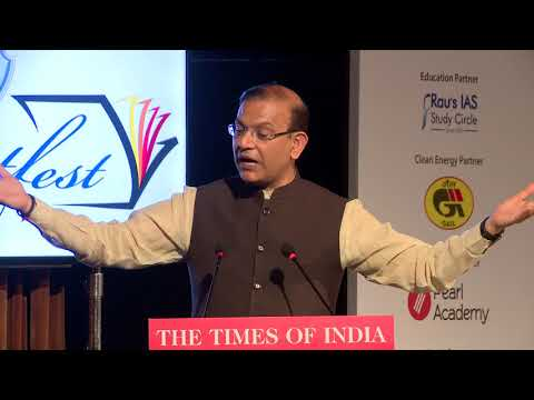 Times Litfest Delhi 2017: Q and A with Jayant Sinha, Union Minister for Civil Aviation