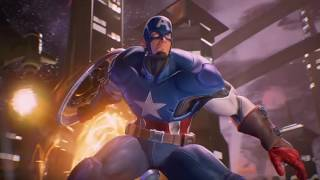 Marvel vs. Capcom: Infinite - Captain America Concept Theme