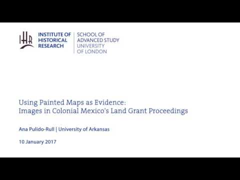 Using Painted Maps as Evidence: Images in Colonial Mexico's Land Grant Proceedings