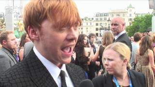 "Rupert Grint: ""I never imagined us being here"""