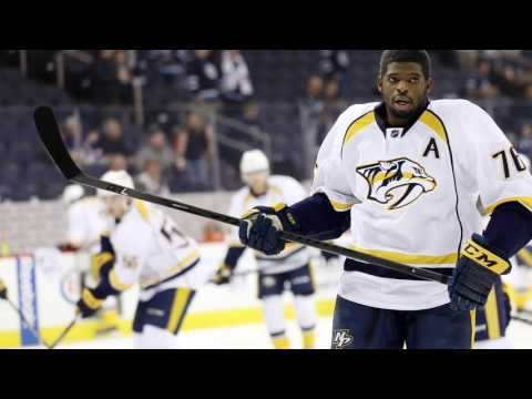 How has P.K. Subban found his scoring touch in Nashville?