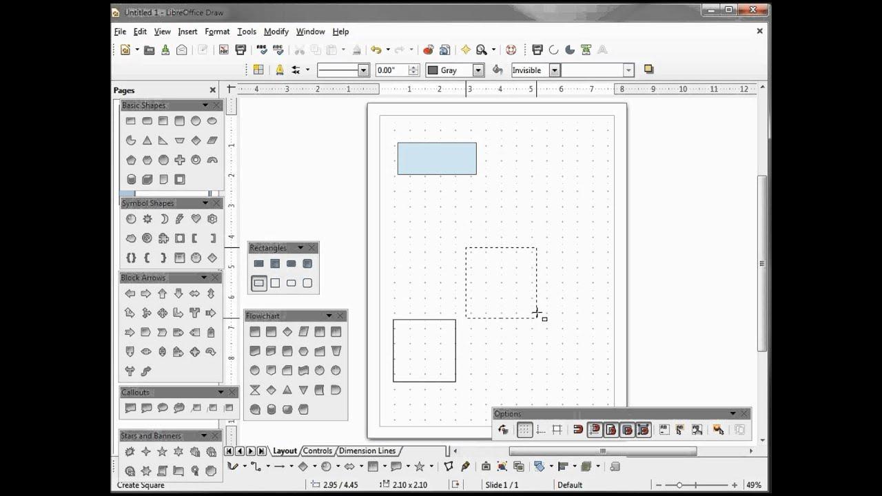 libreoffice draw 12 shapes part 1 youtube rh youtube com LibreOffice vs OpenOffice LibreOffice Icons Logo