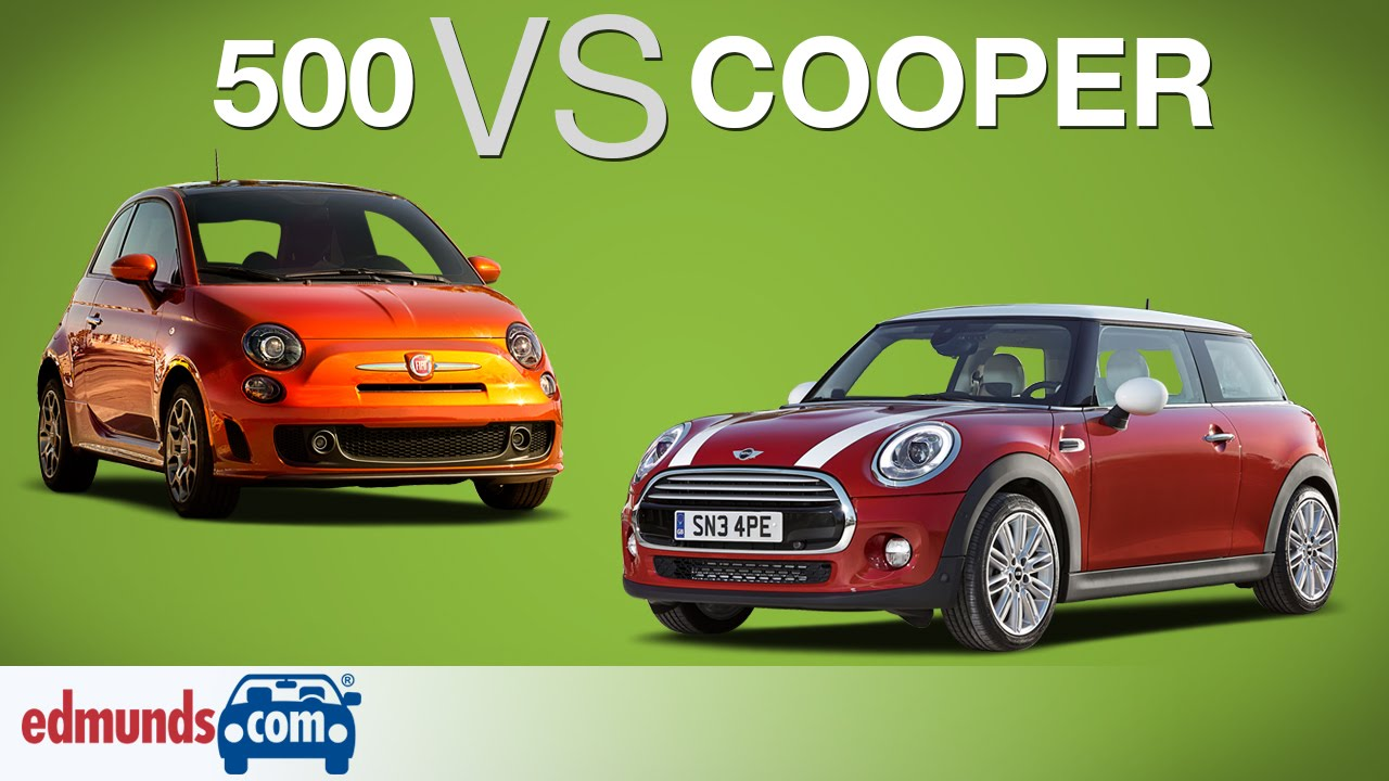 fiat 500 vs mini cooper | which sub-compact is best? - youtube