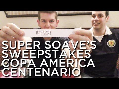 2016-05-29 'Super Soave's Sweepstakes: Copa América Centenario'