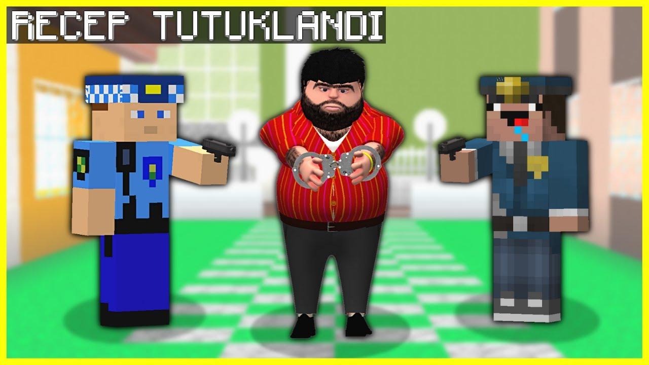 POLİSLER RECEP İVEDİĞİ TUTUKLADI! 😱 - Minecraft