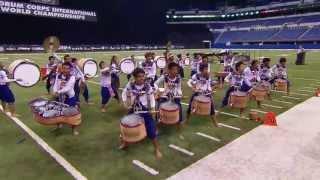 DrumLine Battle Champions E-Sarn - DCI Finals 2013