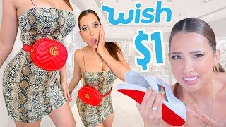 I Bought FAKE GUCCI On WISH - SCAMMED!   Mar